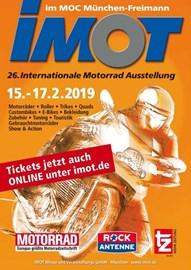 Motorrad Termin IMOT 2019