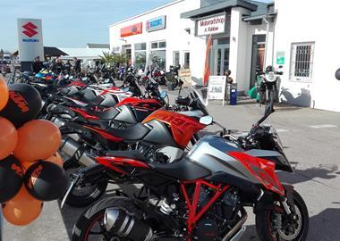 Motorrad Termin Saisonstart im MSK Neustrelitz - Orange Days-