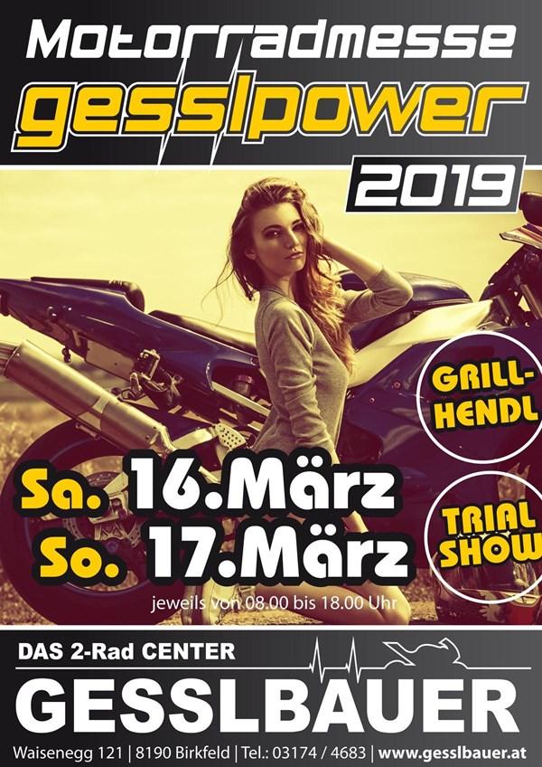 Motorradmesse am 16. und 17. März 2019