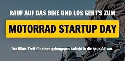 Motorrad Termin StartUp Day 2018 beim ADAC