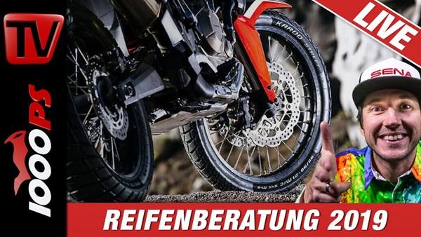 Motorradreifen Beratung 2019 - Neuheiten von Metzeler - Experten im Studio