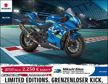Motorrad Termin Gsxr-1000R Test Wochen