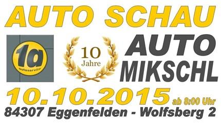 Auto Schau Eggenfelden 2015