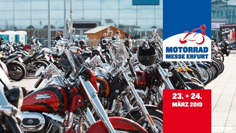 Motorrad Termin Motorradmesse Erfurt 2019
