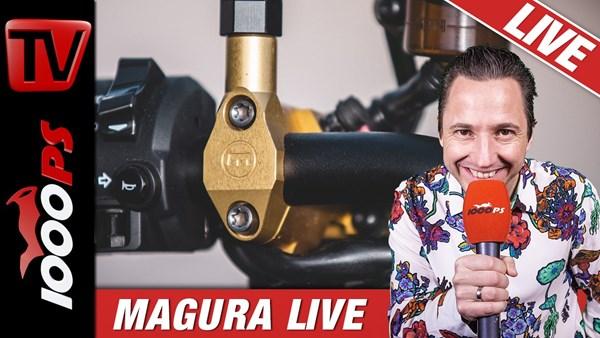 Kupplung, Bremsen und Lenker im Detail - Motorrad Techniktalk Live mit MAGURA