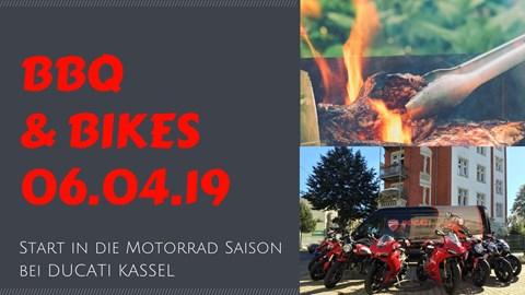 Motorrad Termin BBQ & BIKES III / DUCATI Kassel