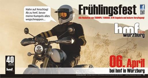 Motorrad Termin HMF LIVE - FRÜHLINGSFEST