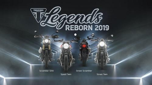 Triumph Legends Reborn 2019 Präsentation