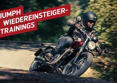 Motorrad Termin Triumph-Wiedereinsteigertraining