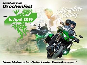 Motorrad Termin Kawasaki Drachenfest 2019