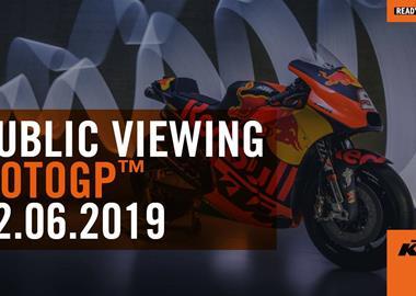 Motorrad Termin PEPA-BIKES MOTO GP Public Viewing