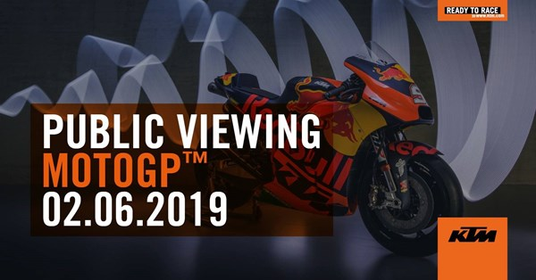 PEPA-BIKES MOTO GP Public Viewing