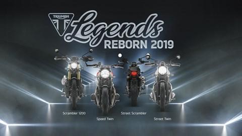 Motorrad Termin Legends Reborn 2019...Präsentation