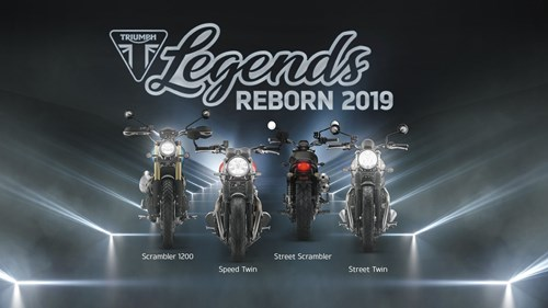 Legends Reborn 2019...Präsentation