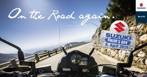 Motorrad Termin Saisonstart & Suzuki Biker´s Day