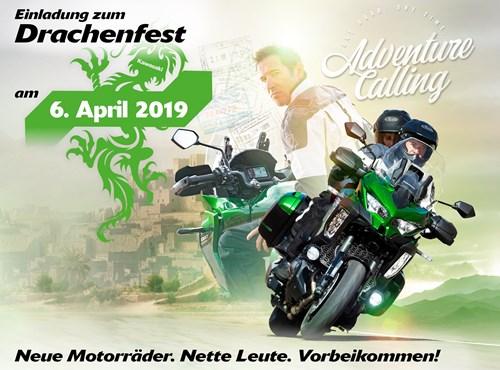 Drachenfest bei Bischoff´s Motorrad Shop
