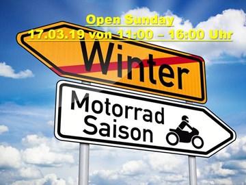 Motorrad Termin Open Sunday