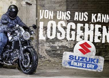 Motorrad Termin SUZUKI BIKERSDAY vom 06. bis 07. April 2019