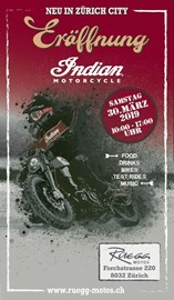 Motorrad Termin Indian Motorcycle Store Eröffnung