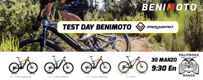 Motorrad Termin TEST DAY BENIMOTO / MEGAMO