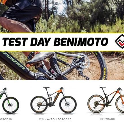 EVENTOS TEST DAY BENIMOTO / MEGAMO