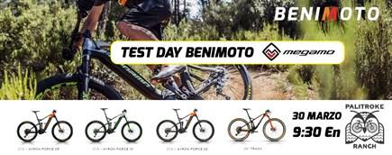 TEST DAY BENIMOTO / MEGAMO