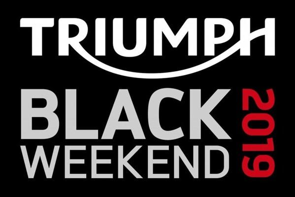 Lo estabas esperando: Llega el Black Weekend de Triumph