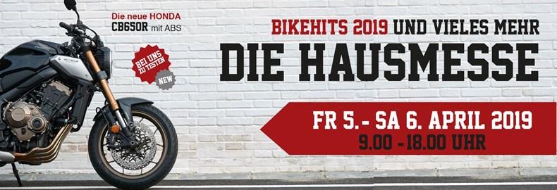 Motorrad Termin DIE HAUSMESSE bei HONDA SCHMIDINGER 5.-6.4.19
