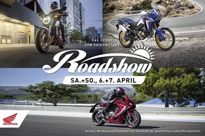 Motorrad Termin Honda Roadshow zum Saisonstart