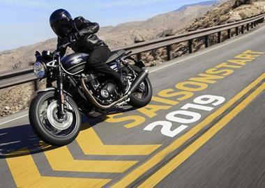 Motorrad Termin Triumph Season Opening