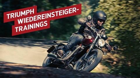 Motorrad Termin Triumph Erfurt Wiedereinstiegertraining