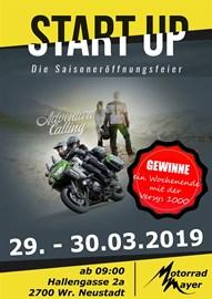 Motorrad Termin Start Up - Die Saisoneröffnungsfeier 2019