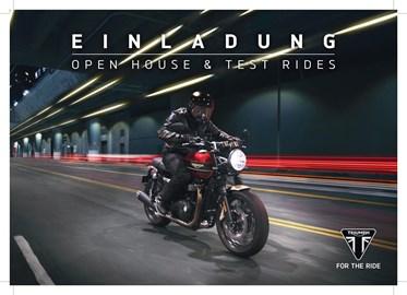 Motorrad Termin OPEN HOUSE + TEST RIDES