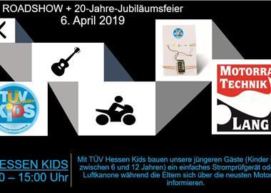 Motorrad Termin Roadshow mit TÜV Hessen KIDS