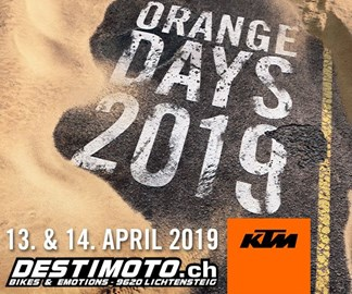 Motorrad Termin KTM ORANGE DAYS