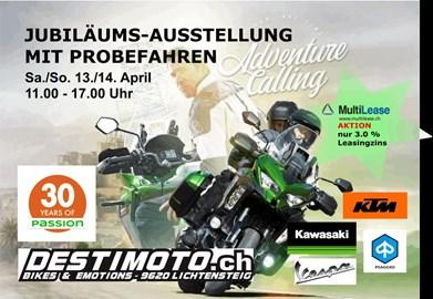 Motorrad Termin Jubiläums Motorrad Ausstellung