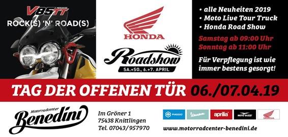 Motorrad Termin Moto Live Tour & Honda Roadshow