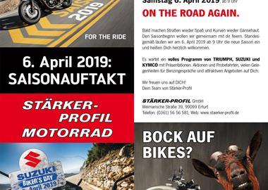Motorrad Termin Biker´s Day 2019