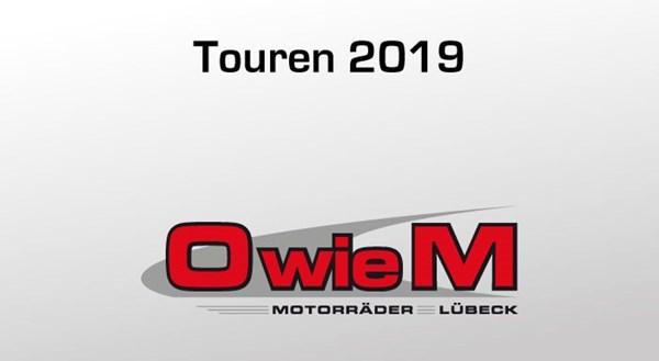 O wie M Touren 2019