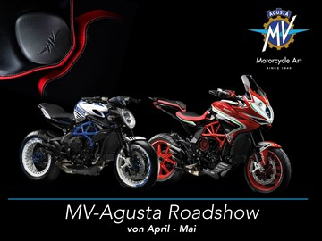 Motorrad Termin MV-Agusta Roadshow in Salzburg
