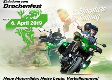 Motorrad Termin KAWASAKI Drachenfest