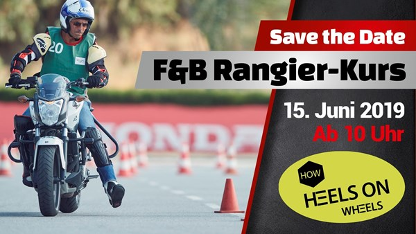 1. Fischer & Böhm Motorrad-Rangier-Kurs