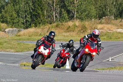 Motorrad Termin Förarutbildning på bana!