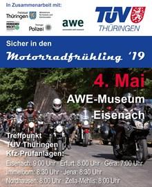 Motorrad Termin Motorrad-Aktionstag TÜV Thüringen