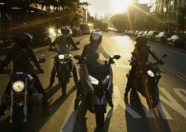 Motorrad Termin Herbst Ausfahrt