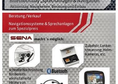 "Motorrad Termin Bluetooth-Day "" Sprechanlagen & Navigation"""