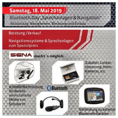 "Bluetooth-Day "" Sprechanlagen & Navigation"""