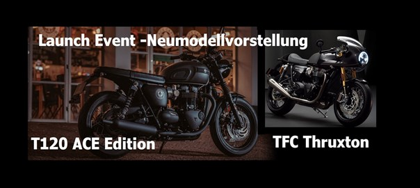 Motorrad Termin Launch Event II Sondermodellvorstellung