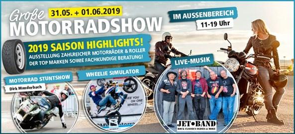 Motorrad Termin Große Motorradshow