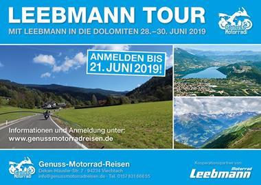 Motorrad Termin Motorrad Leebmann Tour 2019
